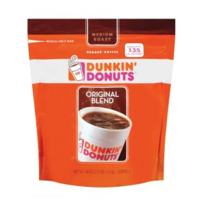 Dunkin Donuts Original Blend Coffee 2.5 Lb Ground