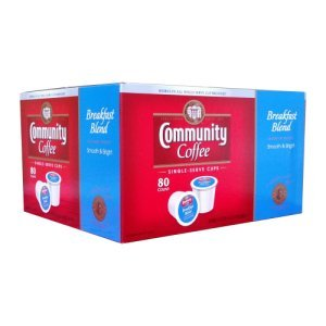 Community Coffee Breakfast Blend Single Serve 80 Ct