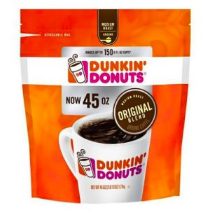 Dunkin Donuts Original Blend Coffee 45OZ Ground