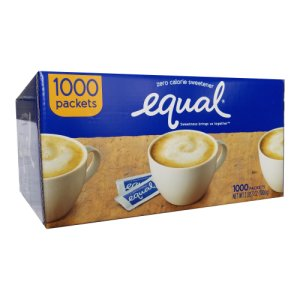 Equal Portion Packets 1000 Ct 1 g Packets
